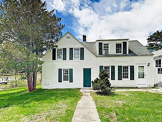 Charming 3BR/2BA East Boothbay Cottage; Pet-friendly