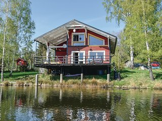 Beautiful home in Nove Mesto p.Smrkem w/ Sauna, WiFi and 3 Bedrooms