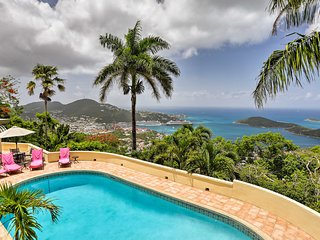 NEW! Charlotte Amalie Villa w/Pool & Ocean Views!