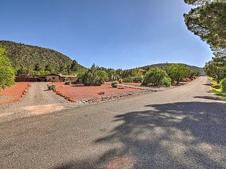 Sedona Home on 1 Acre w/ Pool+Red Rock Views!