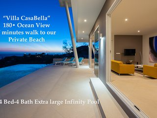 'Villa Casa-Bella' Luxury Beach Resort, W/ Private Pool for up to 8 Guests