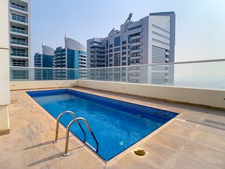Amazing Suite With Rooftop Pool And Fitness