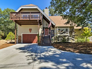 Lake Arrowhead Home w/ Fireplace + Game Room!