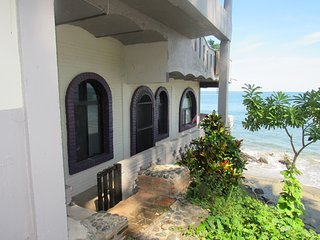 Beach Front Bungalow in Private Bech