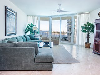 Casual Poolside Condo with Wonderful View of Perdido Bay