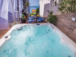 Beautiful apartment in Crikvenica w/ Jacuzzi, WiFi and 1 Bedrooms