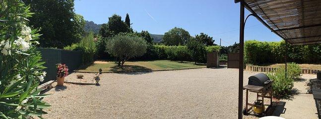 Grand jardin clos et privatif sans vis à vis - arbres fruitiers