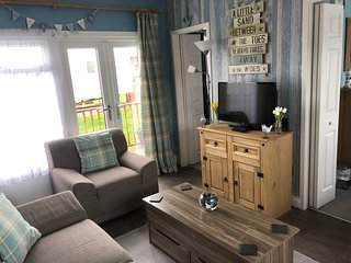 Two bedroom pet friendly holiday chalet for rent