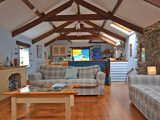 Beautiful barn conversion in peaceful location with use of games room