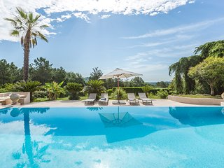 Luxury Villa with pool, large grounds & private forest