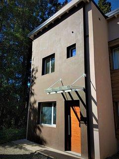 Vista exterior de la propiedad