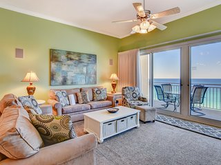 Perfect beach view condo with shared pool, steps to Pier Park!