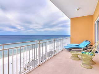 Waterfront condo with large balcony and oceanfront views!
