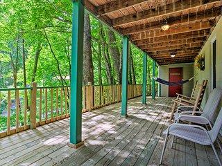 NEW! Blue Ridge Mtn Home w/Private Creek & Grill!