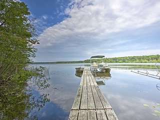 NEW! Interlochen Home - Walk to Dock on Green Lake