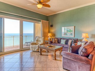 Waterfront condo with private balcony and oceanfront views!