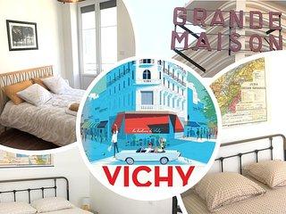 Appt design, tt confort, centre ville, 3 chambres