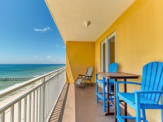Fun in the sun on Panama City Beach w/ Gulf views, shared pool, & fitness center