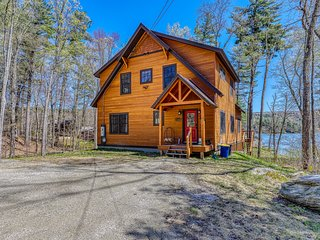 NEW LISTING! Family friendly, waterfront home w/ a view - near Okemo Mountain!