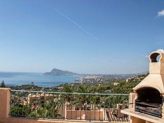 Amazing mediterranean views in Altea Hills