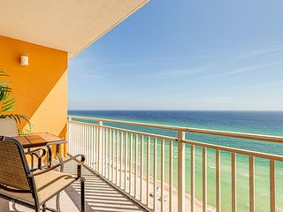 Kid-friendly beachfront resort condo w/ pools, seasonal beach service & more!