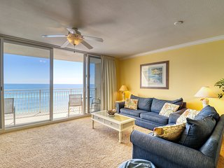Upscale Emerald Beach home with access to onsite amenities and private balcony