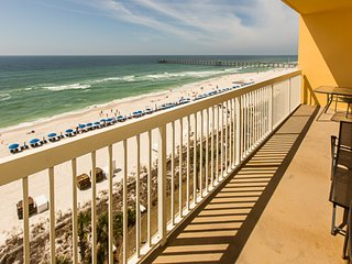 Gorgeous, gulf-front condo w/ stunning views, shared pool & fitness center!