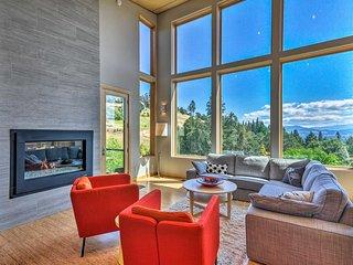 NEW! Expansive Modern Home w/ Patio+Mt. Hood Views