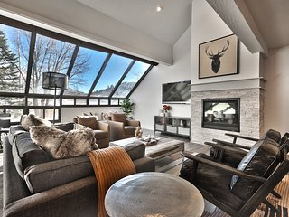 Hit the Slopes from a Chic Townhome in Park City