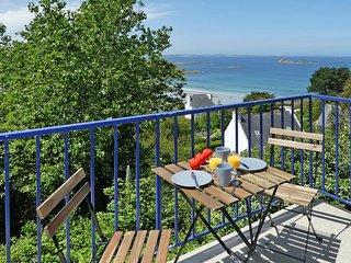 Maison avec superbe vue mer et acces chemin cotier