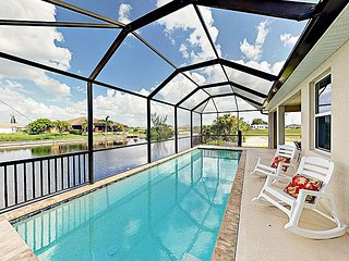Sparkling New Canal Home w/ Chef's Kitchen & Water-View Patio