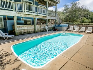 Aweigh From It All | 2300 ft from the beach | Dog Friendly, Private Pool, Hot Tu