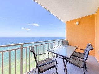 Family condo at beachfront resort w/ waterpark, pools, hot tub & beach access!