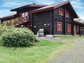 Beautiful home in Vegarshei w/ Indoor swimming pool, Sauna and WiFi