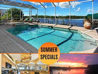 31% OFF! SWFL Rentals - Villa Karen - Beautiful 3 Bedroom Heated Pool Home Sleep