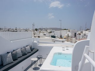 Roofs Of Chora Town House with Rooftop Pool
