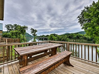 Waterfront White River Cabin w/ Resort Pool + Deck