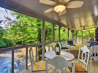 NEW! Creekside Hayesville Cabin - Near Chatuge Lk!