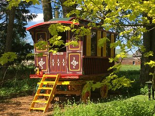 Wild Billy's Wagon at The Meadow Glamping **Single Nights Available**