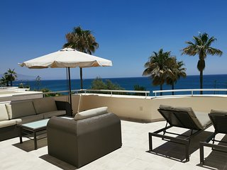 Splendid beach front apartment Estepona