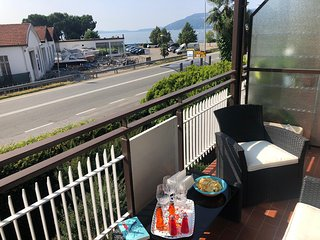 Romina apartment in Verbania with balcony