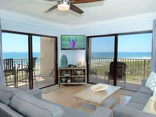 The Best Oceanfront Views In Cocoa Beach - Top Notch 3-bedroom Corner Unit!