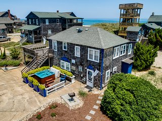 The Carriage House II (Lower) | 95 ft from the beach | Dog Friendly, Hot Tub | N