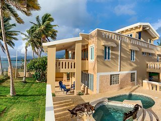 Luxury Ocean Front Villa with Private Beach and Panoramic Views