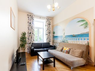 4-roomed apartment at Arbat street