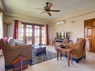 Living room French doors to Verenda