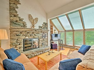 1,400-Sq-Ft Home: Central to Killington & Okemo!