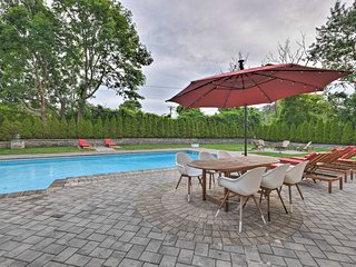 Modern Hampton Bays House w/Pool & Bay Rights!