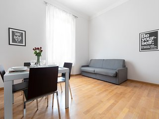 Brand new apt with WiFi in city center
