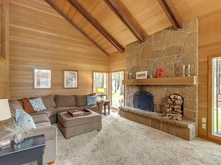NEW LISTING! Cozy, dog-friendly home in the pines with shared resort amenities!